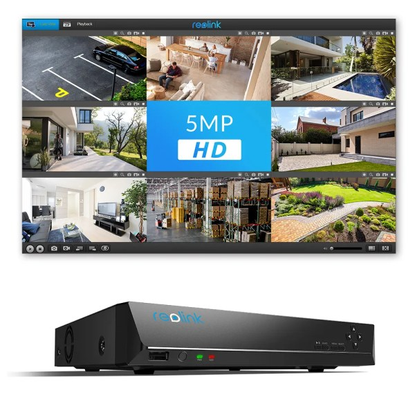 Reolink 8CH NVR Video Recorder for 4MP/5MP/4K IP Cameras 3