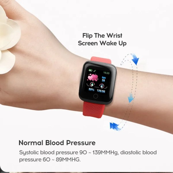 Men and Women Smartwatch Fitness Tracker Bracelet 4