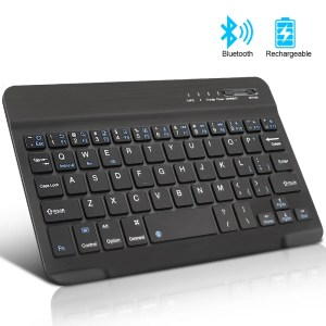 Mini Wireless Bluetooth Rechargeable Keyboard