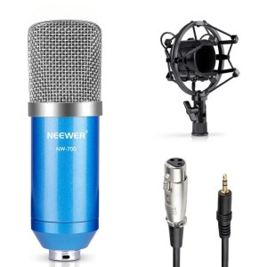 NW-700 Studio Recording Condenser Microphone Set