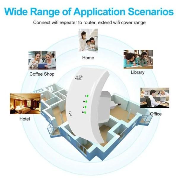 300 Mbps Wireless WiFi Repeater WiFi Booster WiFi Amplifier 2