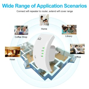 300 Mbps Wireless WiFi Repeater WiFi Booster WiFi Amplifier