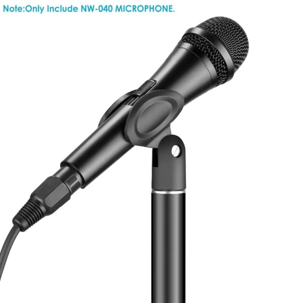 Professional Cardioid Dynamic Microphone with 3.5 mm Male to XLR Female Cable 6