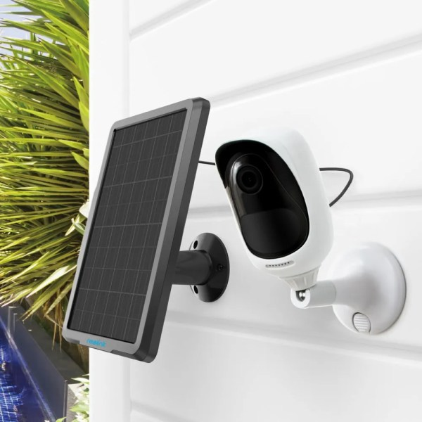 Reolink Solar Panel with 4 meters Cable for Reolink Rechargeable Battery Security Camera 5