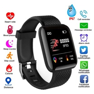 Men and Women Smartwatch Fitness Tracker Bracelet