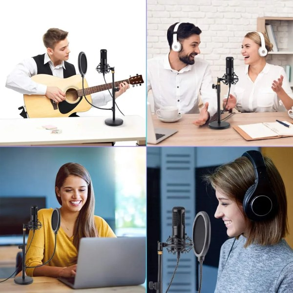 Felby USB Podcasting Condenser Microphone 4