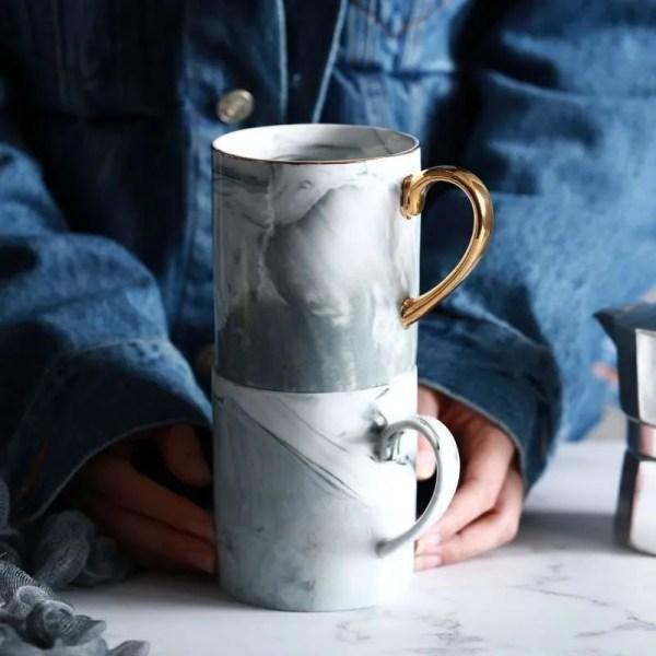 Lekoch European Marble Grain Mug 3