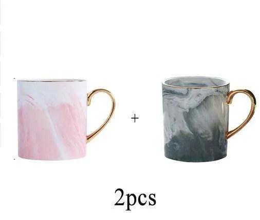 Lekoch European Marble Grain Mug 6