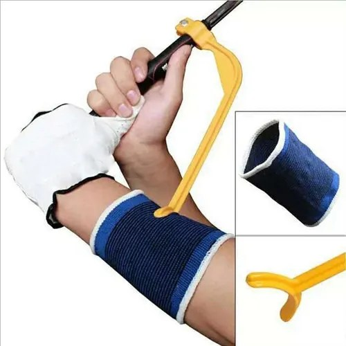 Golf Swing Trainer eginner Practicing Guide Gesture Alignment Training Aid Aids Correct Swing Trainer Elastic Arm Band Belt