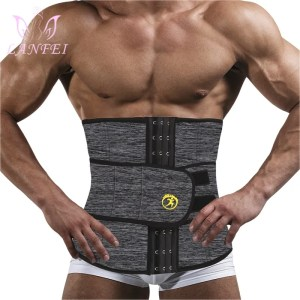 LANFEI Men's Neoprene Thermo Body Shaper Waist Trainer