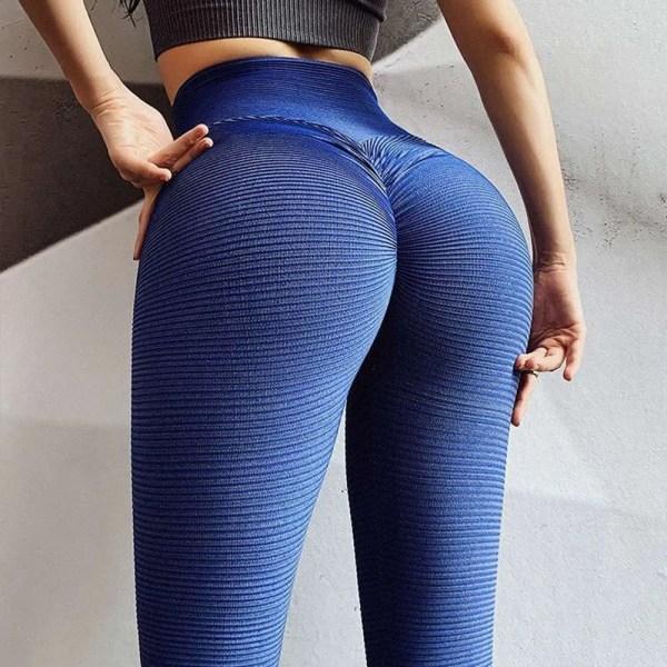 Women Sport Textured Booty Leggings 11