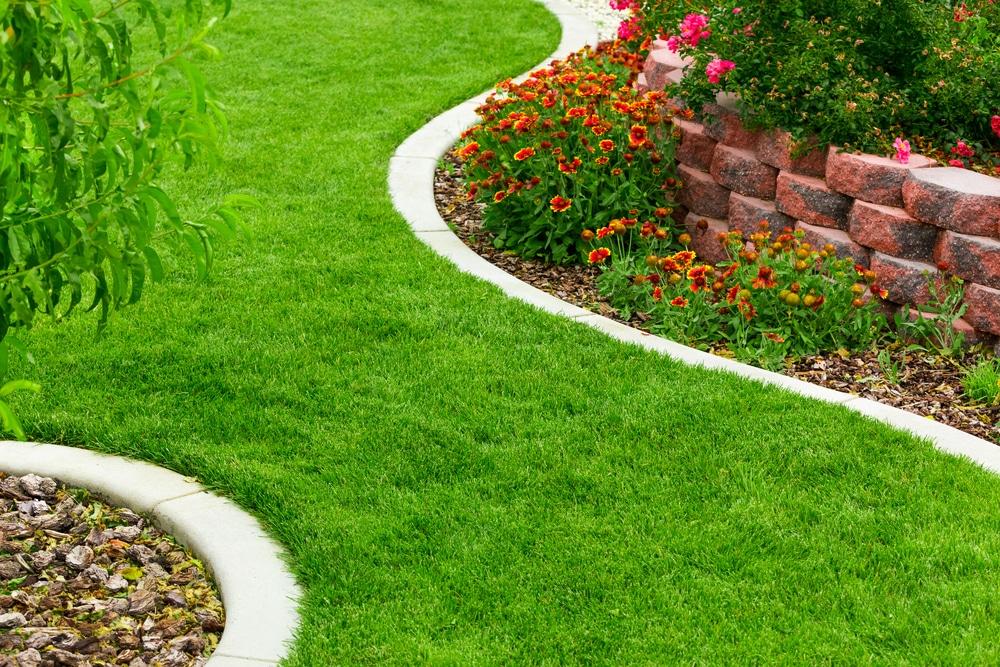 garden edging installation ideas