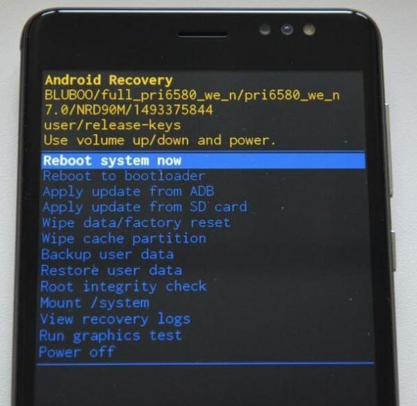 Hogyan állítsa vissza az Android beállításait a helyreállításon keresztül