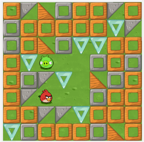Angry Birds et le Labyrinthe