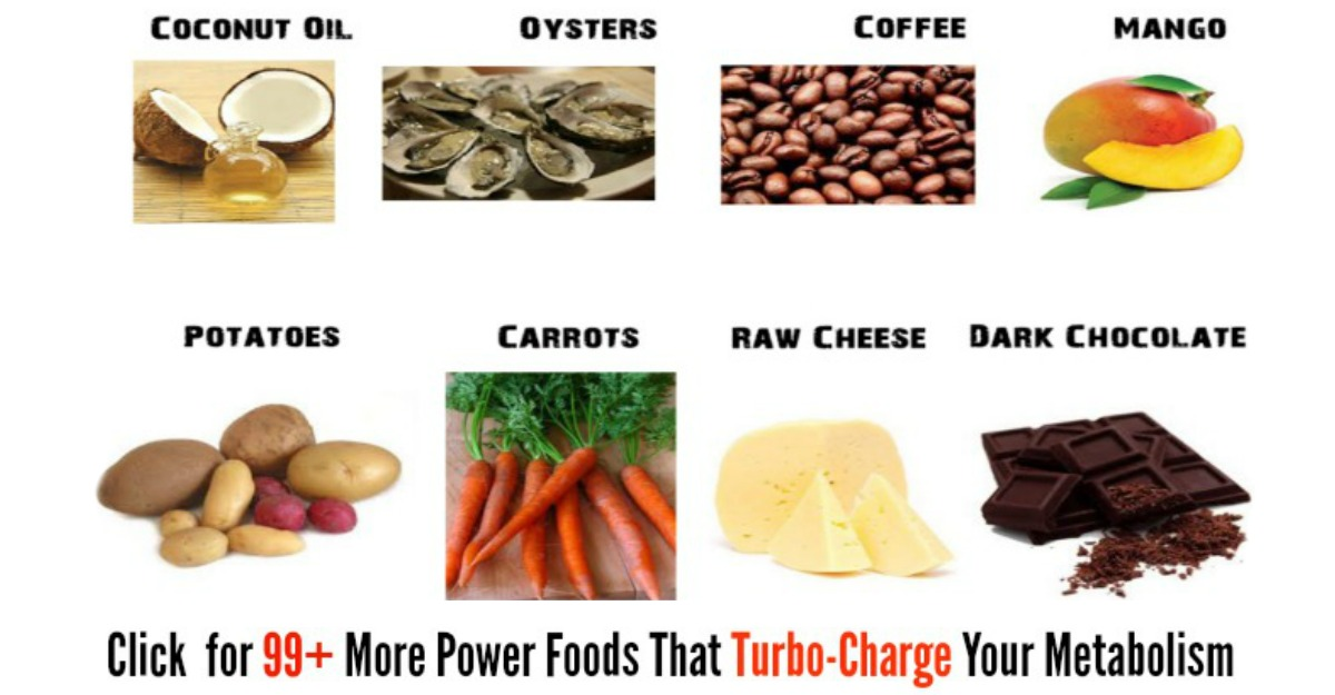 Turbo-Charge Your Metabolism With These 99+ Power Foods