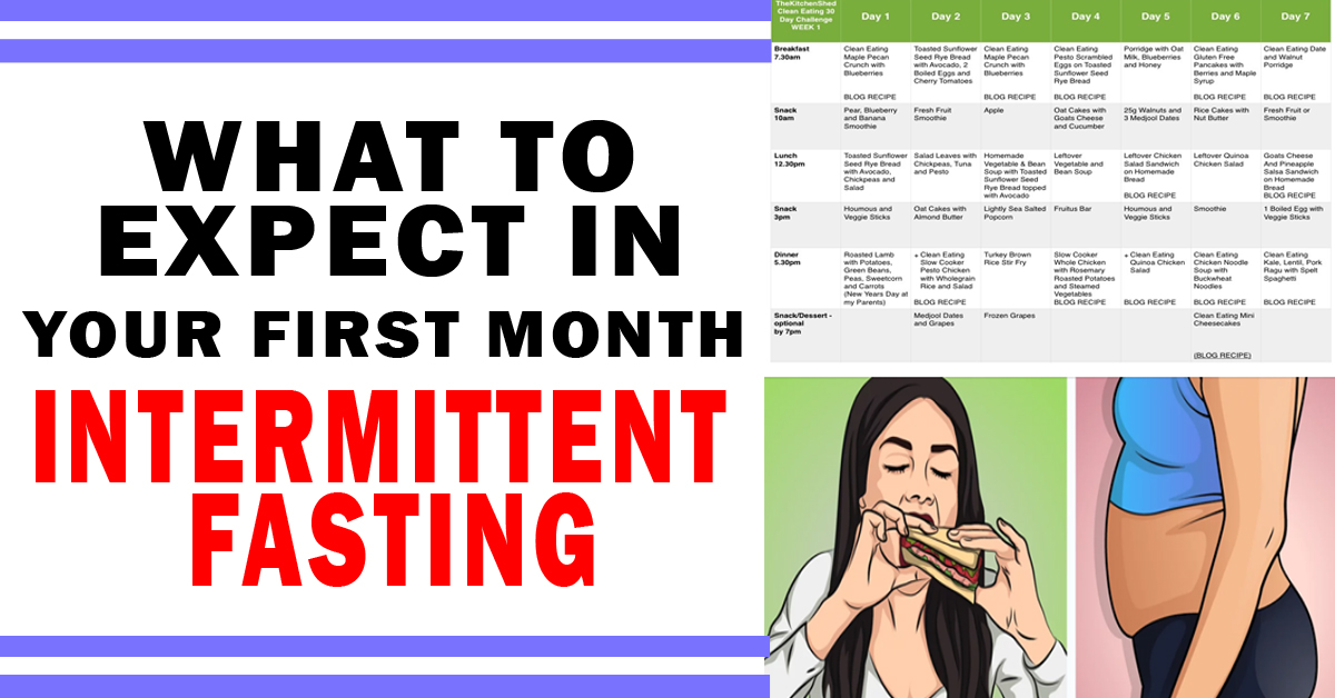 What To Expect In Your First Month Intermittent Fasting