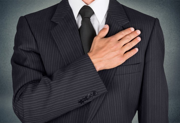 Part 4 Man Pledging Loyalty