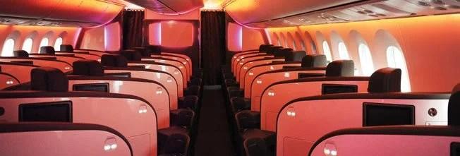Virgin Atlantic's Upper Class