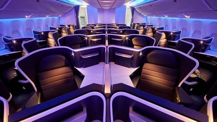 Virgin Australia's A330 business class