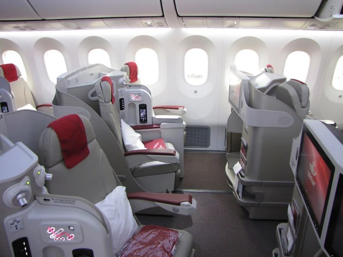 Royal Air Maroc business class