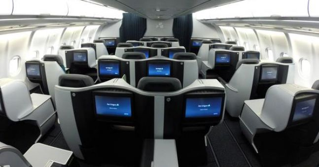 Aer Lingus Business Class Layout