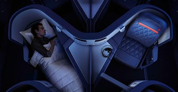 Check out the Delta One flying experience. Image courtesy of delta.com.