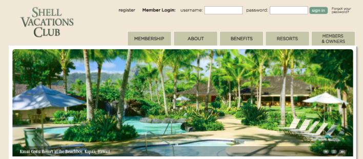 hawaiian airlines shell vacation club