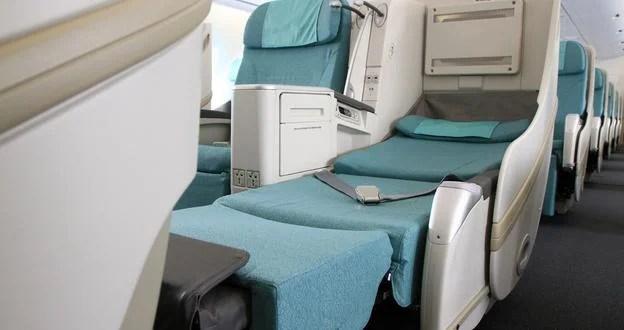 Korean Air's business class
