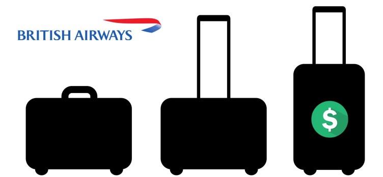 British Airways baggage fees