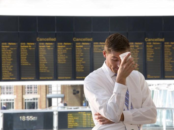 Cancelled Delayed Flight Board