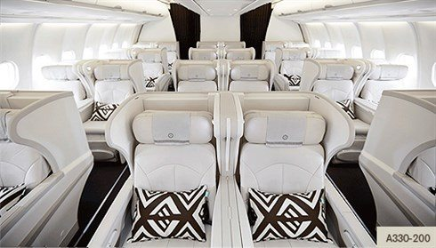 Fiji Airways' business class