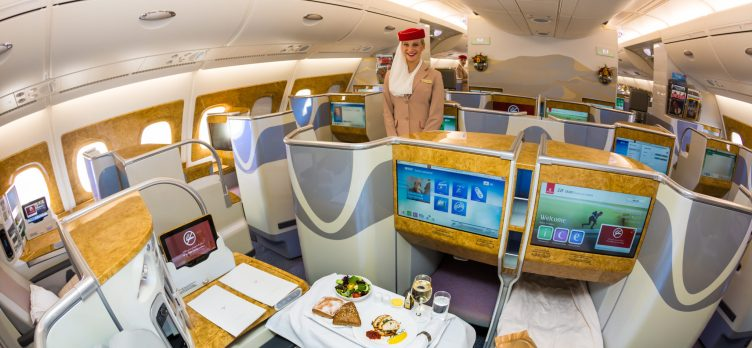 Emirates Business Class Seat