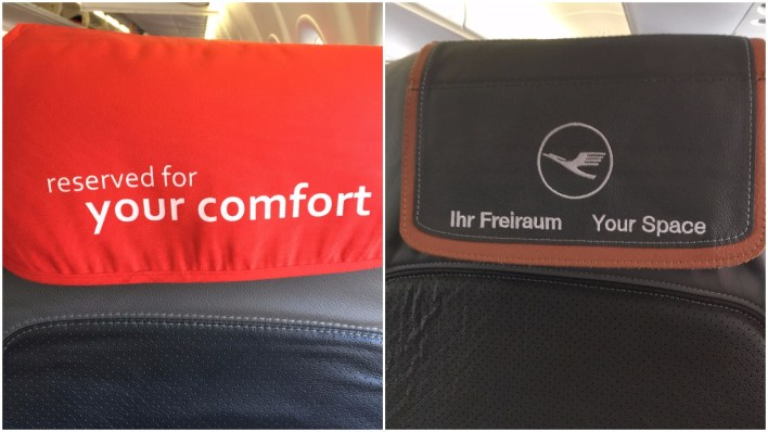 Intra European Business Class Saved Seat