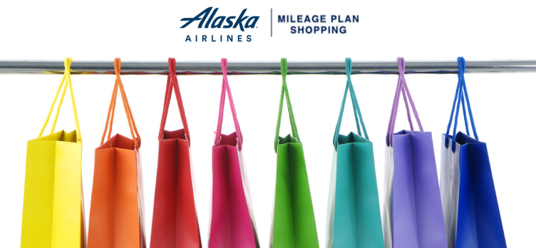 Alaska Airlines Mileage Plan Shopping Portal