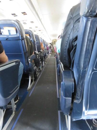 Allegiant Air Cabin Photo