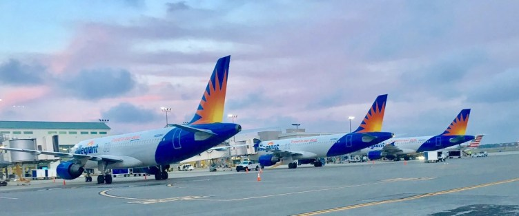 Allegiant Aircraft Tail Livery