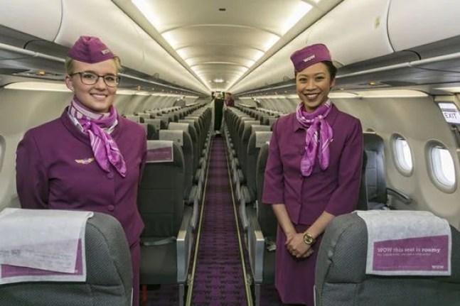 WOW air, Flight Attendants Onboard