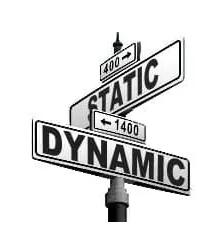dynamic vs static 1 1