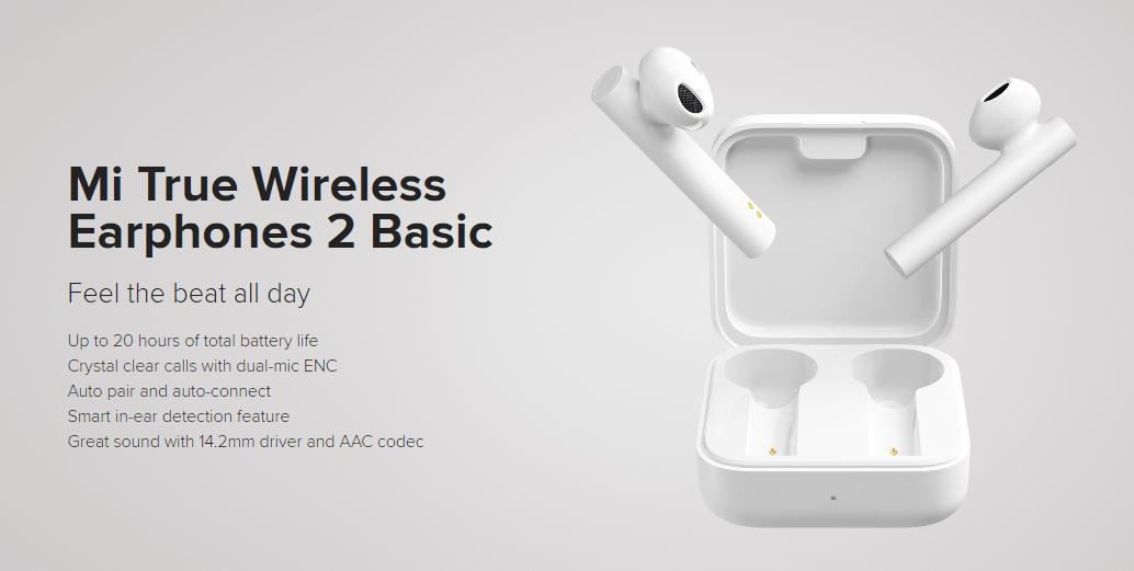 Mi True Wireless Earphones 2 Launched in India Teased by Xiaomi