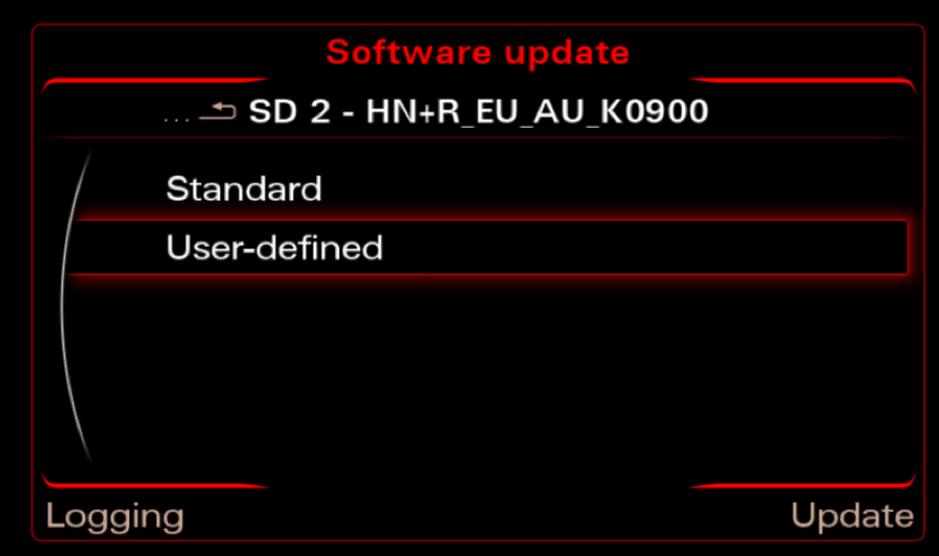 MMI 3G firmware update