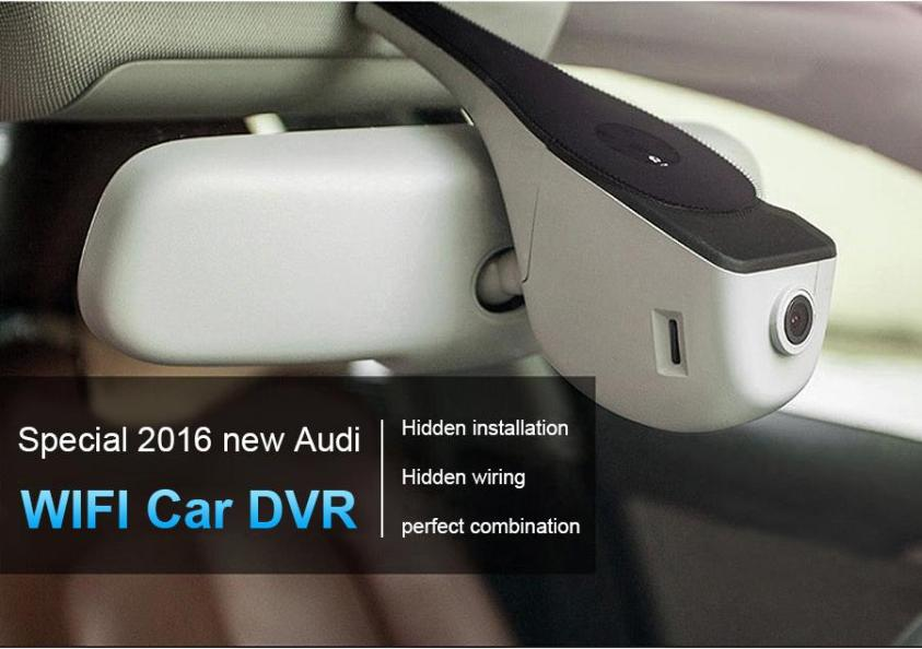 Hidden Dash Camera for Audi