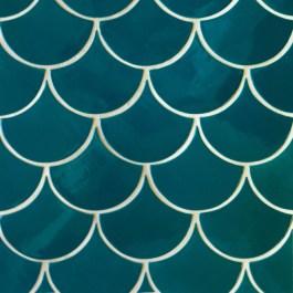 Mercury Mosaics - Moroccan Fish Scales tiles