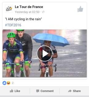 Bike in Rain