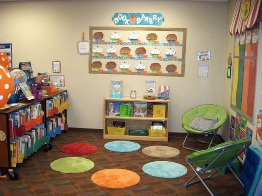 Independent Space Within Classroom