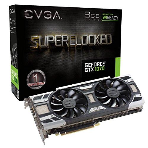 EVGA GeForce GTX 1070 SC ACX 3.0 8GB