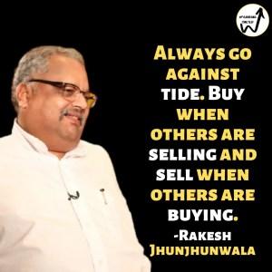 Rakesh Jhunjhunwala best lines
