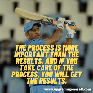 ms dhoni best quotes