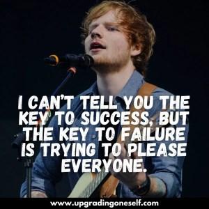 ed sheeran quotes wallpaper