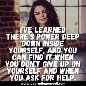 inspiring quotes by selena gomez