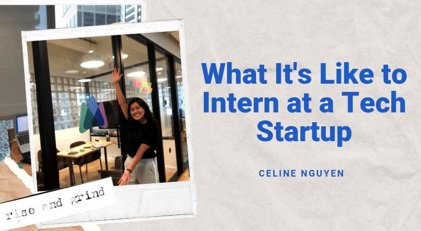 Intern at a tech startup